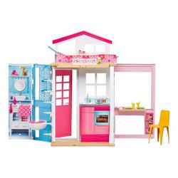 MATTEL - Barbie - Casa Componibile con 2 piani e tanti accessori trasformabili