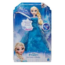 HASBRO - Disney Frozen - Personaggio Bambola Elsa Magica Cantante