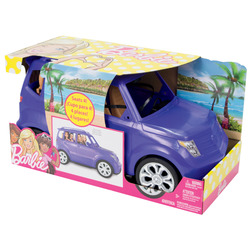 MATTEL - Barbie - Suv con 4 posti e cinture di sicurezza