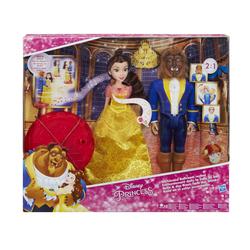 HASBRO - Disney Princess - La Bella E La Bestia Magica Sala Da Ballo Playset