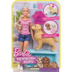 MATTEL - Barbie Cuccioli Appena Nati