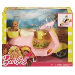 MATTEL - Barbie - Scooter & Cagnolino - con cucciolo e casco inclusi