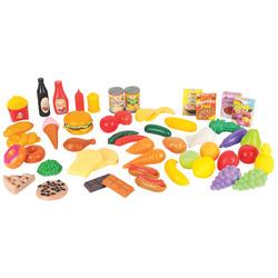 RIK&ROK - Set Frutta, Verdura e Cibi 60 pezzi