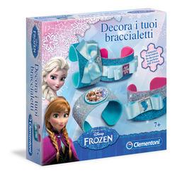 CLEMENTONI - Frozen - Decora i Tuoi Braccialetti