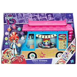 HASBRO - My Little Pony Equestria Girls - Il Sushi Bar Playset (Minis)