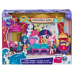 HASBRO - My Little Pony Equestria Girls - Il Cinema Playset (Minis)