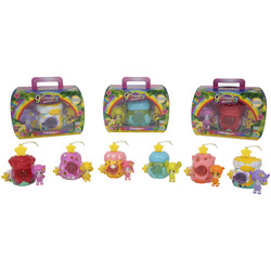 GIOCHI PREZIOSI - Glimmies Rainbow Friends Glimhouse Con Mini Doll Esclusiva