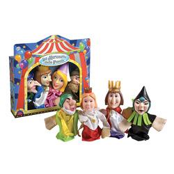 GRANDI GIOCHI - Set 4 Marionette per Teatrino