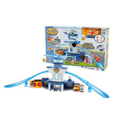 GIOCHI PREZIOSI - Superwings Playset Deluxe Torre di Controllo con 2 Personaggi