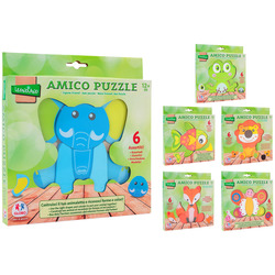 GLOBO - Amico Puzzle  (Personaggi assortiti)