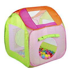 BABY AUCHAN - La Mia Casetta pieghevole con palline (Colori assortiti)