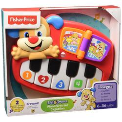 FISHER-PRICE - Fisher-Price - Pianoforte di Cagnolino, giocattolo musicale per bimbi