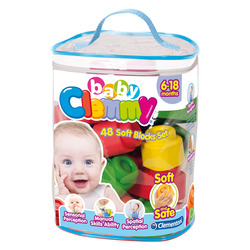 CLEMENTONI - Baby Clemmy - Sacca 48 Mattoncini