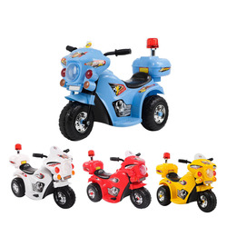 OLD TOYS - Moto Police Luci E Suoni Gialla