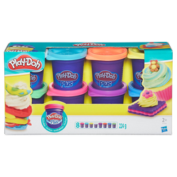 Play-Doh - Play-Doh Plus 8 Vasetti