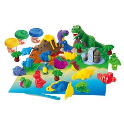 Dinosauri con pasta modellabile