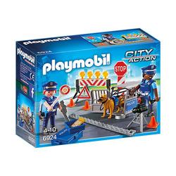 PLAYMOBIL - 6924 - Posto di Blocco della Polizia