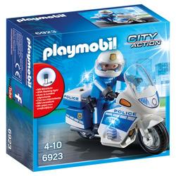 PLAYMOBIL - 6923 - Moto della Polizia