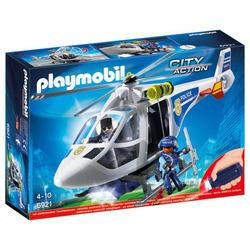 PLAYMOBIL - 6921 - Elicottero Polizia con Luce