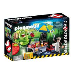 PLAYMOBIL - 9222 - Slimer e Carretto Hot Dog