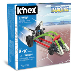 GRANDI GIOCHI - K-NEX Rocket Car Buikding Set