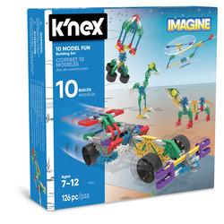 GRANDI GIOCHI - K-NEX 10 Modelli Fun Building Set