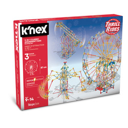 GRANDI GIOCHI - K-NEX 3in1 Classic Amusement Park Build