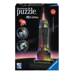 RAVENSBURGER - 3D Building Night Empire