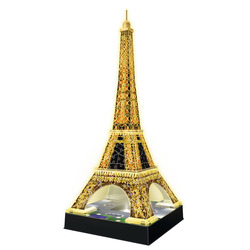 RAVENSBURGER - 3D Building Night Tour Eiffel