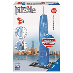 RAVENSBURGER - 3D Building Freedom Tower