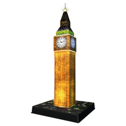 RAVENSBURGER - 3D Building Night Big Ben