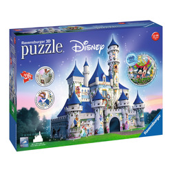 RAVENSBURGER - 3D Maxi Disney Castle