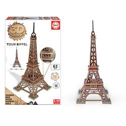 GRANDI GIOCHI - Puzzle 3D Torre Eiffel