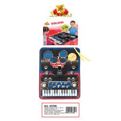 DECAR - Tappeto Musicale Tastiera e Batteria