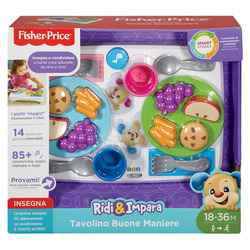 FISHER-PRICE - Tavolino Buone Maniere