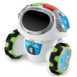 FISHER-PRICE - Fisher-Price - Roby Robot, interattivo e multifunzionale