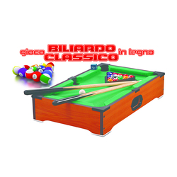 RSTOYS - Gioco Biliardo Classico in Legno