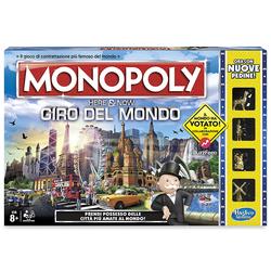 HASBRO - Monopoly Here & Now Giro Del Mondo