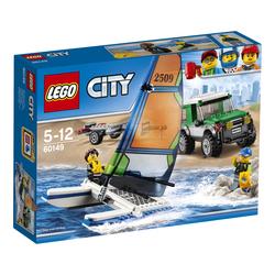 LEGO - 60149 - 4x4 with Catamaran
