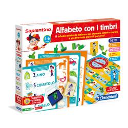 CLEMENTONI - Alfabeto con i timbri
