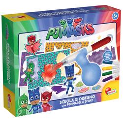 LISCIANIGIOCHI - PJ Masks Scuola di Disegno con Spray Colour