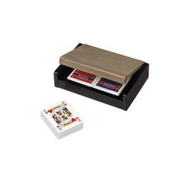 DAL NEGRO - Scatola in Legno con 2 Mazzi di Carte Poker