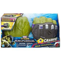 HASBRO - Marvel Thor Ragnarok - Hulk Pugni Elettronici