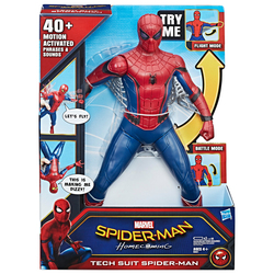 HASBRO - Marvel Spider-Man Homecoming - Personaggio Action Figure Spider-Man Interattivo