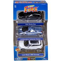 BBURAGO - Auto 3 Pack Street Fire 1:43