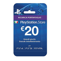 SONY - PS STORE - 20 euro