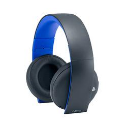 SONY - Sony PS4 Headset, Padiglione auricolare, Nero, Blu, Digitale, 3,5 mm, Circumaurale, Chiuso