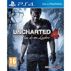 Sony - Uncharted 4: Fine di un Ladro, PlayStation 4, Azione / Avventura, T (Teen)