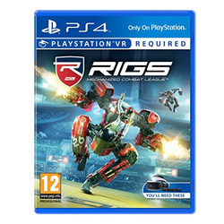 Sony - PS4 VR - Rigs Mechanized Com Lea