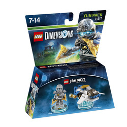 WARNER BROS - Lego Dimensions Fun Pack Ninjago Zane